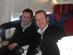 Guillaume et son ami Dany Boon